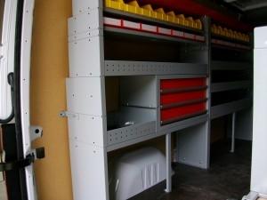Aménagement de véhicule utilitaires, casier de rangement en Vendée Maine et Loire