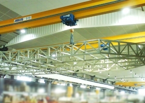 chassis metallique de moule 180m2 industrie nautique pont catamaran