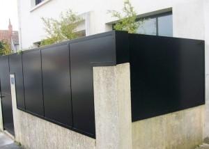 cloture brise vue haute aluminium design moderne vendee pays de loire 85