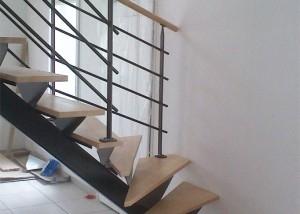 escalier en métal et garde-corps sur mesure en vendée