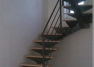 escalier en métal sur mesure et garde-corps en vendée
