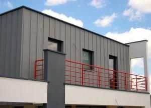 garde-corps exterieur en métal terrasse en vendée