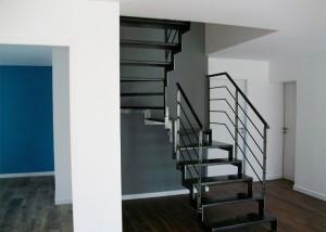 escalier cremaillere style industriel vendée
