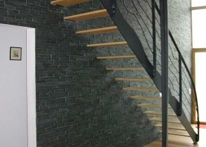 escaliers métal en vendée et garde corps design