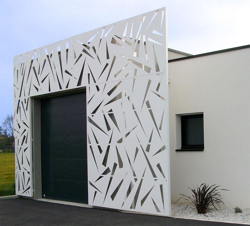 facade alu design deco sur-mesure habillage maison Vendée Loire Atlantique