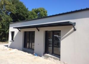marquise vendée moderne maison neuve metal sur-mesure