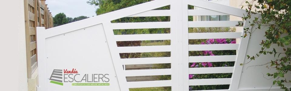 portails metal Sur Mesure Vendée escaliers