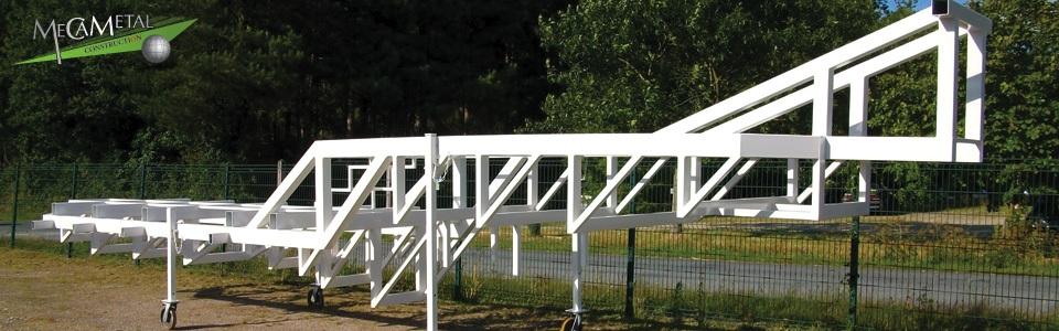 fabrication de chassis metallique industriel