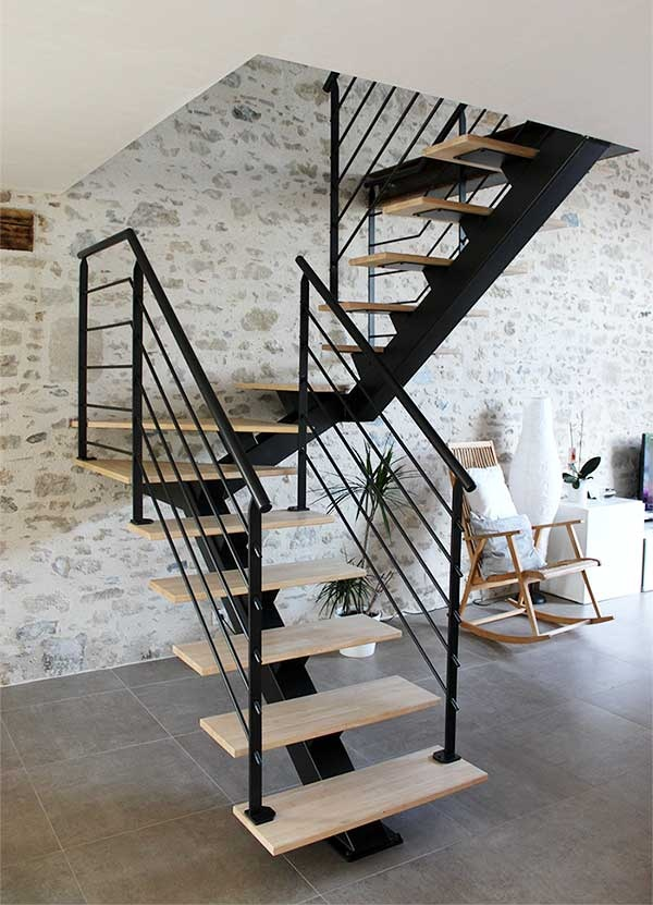 escalier-2-4-tournant-metal-bois-vendee