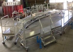 Passerelle de drapage pont de bateau - industrie nautique-1
