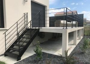 Garde de corps et clôture aluminium extérieur